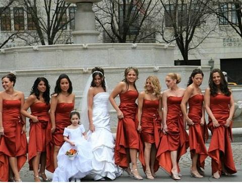 Consultas de damas de honor para las novias