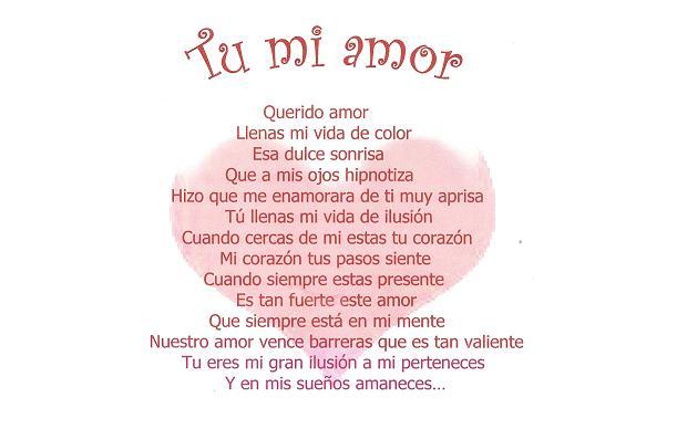 Escribir poemas de amor