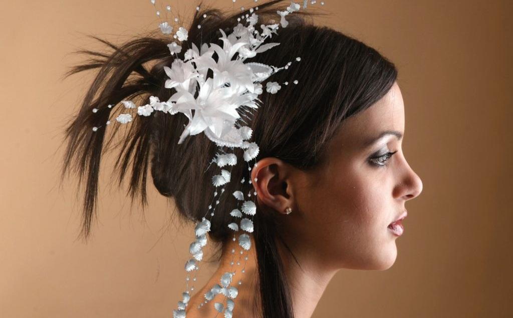 Peinados para bodas 2013 - Peinado para boda de dia ...