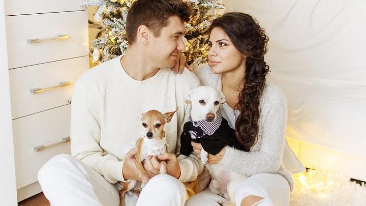 pareja-con-sus-perros