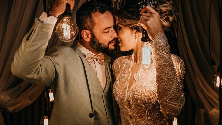 pareja-en-su-boda